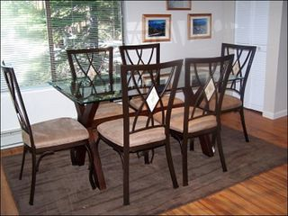 Tahoe Valley condo photo - Dining Room for up to 6 People