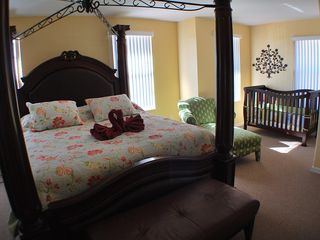Kissimmee villa photo - Master bedroom suite with sitting space