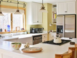 Chilmark house photo - Spacious counter area for cooking or entertaining