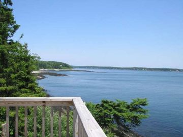 Orrs Island cottage rental - One view from the deck