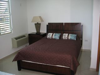 Rincon townhome photo - Second Bedroom with two queen beds.