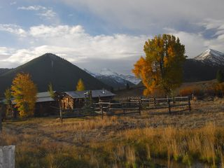 Sun Valley cabin photo - Fall Cabins