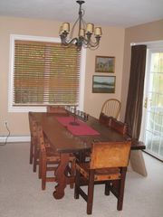 large dinning table - Lincoln house vacation rental photo