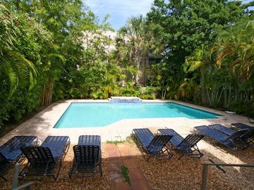 Bal Harbour apartment rental - View and access to the pool from the Master bedroom