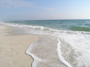 Sugar-white sand and beautiful water - as far as the eye can see.