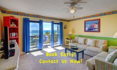 """""""Right on the Beach!"""" - Beachfront with GREAT Views and PRIVATE Beach - W@W !!"""