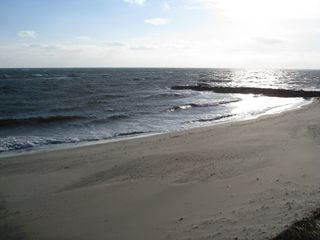 Dennisport condo photo - Private Beach