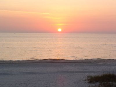 Madeira Beach condo rental - Beach Sunset