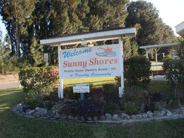 Sunny shores is a safe and friendly waterside community.
