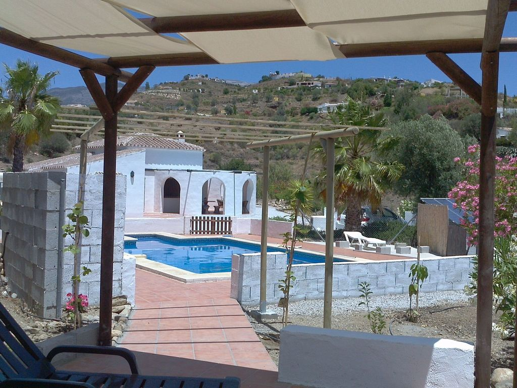 Holiday Home With Private Swimming Pool Homeaway Axarquia Costa Del Sol