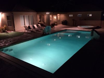 Beautiful 4BR/2.5BA With Private Pool & Hot Tub, WiFi, Satellite 70' TV, Xbox