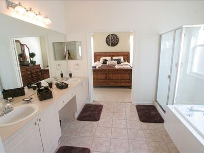 The bathroom in Master bedroom #1