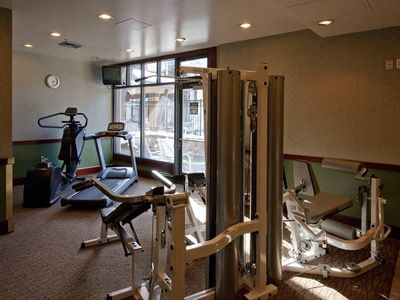 First floor fitness center in building two