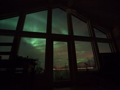 Perfect for viewing the Northern Lights in Winter & The Midnight Sun in Summer!