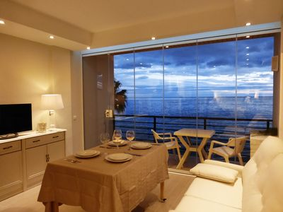 Torremolinos apartment rental - living room with sea views