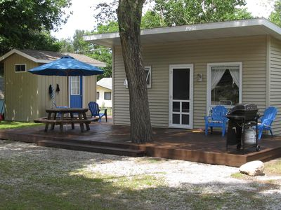 Silver Lake cottage rental - Cottage and Bunk House
