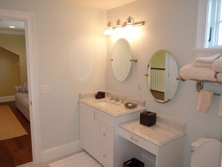 Newport condo photo - Italian Marble Master Bathroom
