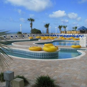 North Myrtle Beach condo rental - Outside Lazy River is just waiting for you and the kids!