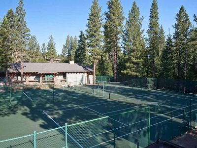 Northstar recreation center - private club. Tennis courts.