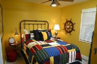 Wild Dunes house photo - Darling nautical guest room