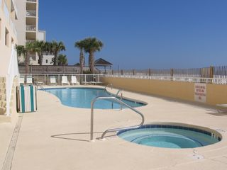 Gulf Shores condo photo - Beachside Pool and Hot Tub