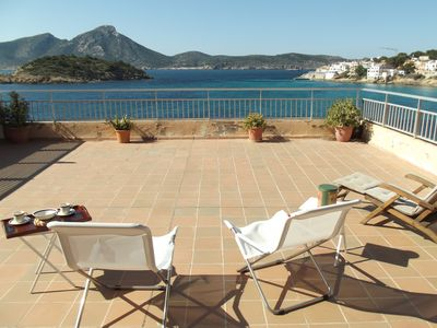 Sant Elm Terrassa del Mar Apartment - direct access to the sea !!