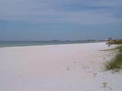 Pass-A-Grille Beach directly across from unit