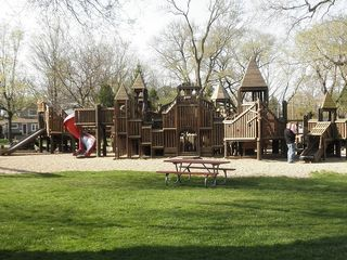 South Haven cottage photo - Kids Corner Park- Across from house