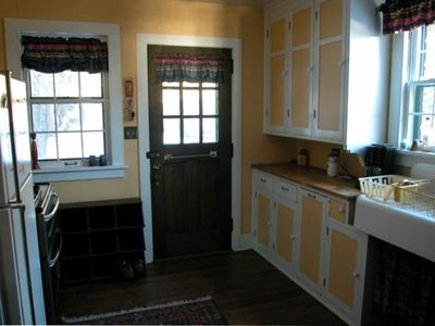 Lutsen house rental - The kitchen