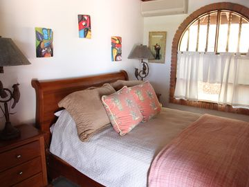 Another Queen bedroom at Casa de la Playa Vacation Home, Flamingo, Costa Rica