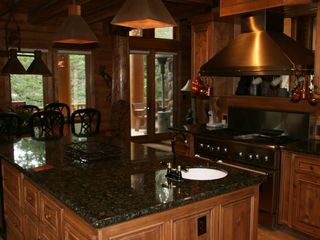Sundance cabin photo - Gourmet Kitchen. 2 Dishwashers, Large Thermador gas stove. Subzero Fridge.