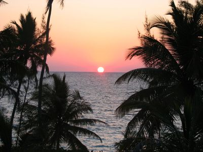 Situated on the Atlantic, our beach provides wonderful sunrises for early risers