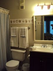 Port Royal villa photo - Master bathroom.