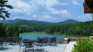 Big Canoe chalet photo - Gorgeous Lake View from the veranda of the New Clubhouse