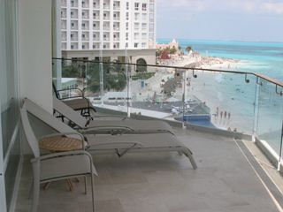 Cancun condo photo - Picture yourself relaxing on this balcony