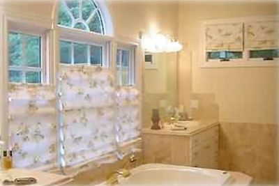 Master Bath, Imported Limestone & Marble, Jacuzzi, Walk-in Shower