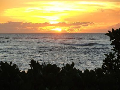 You will see some of the most spectacular sunsets in Hawaii