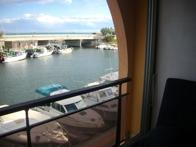 Apartment in Sète 2 bedrooms with sea view, renovated