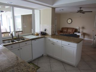 Vacation Homes in Marco Island house photo - Bright and open kitchen