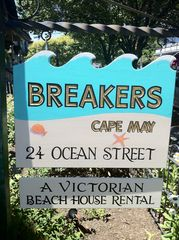 Cape May house photo - Sign