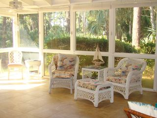 Ponte Vedra Beach condo photo - sunroom on golf course. Master and living area lead to sunroom on 2 EAST golf