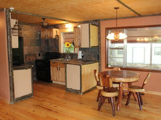 Blairsville cabin photo - Unique kitchen