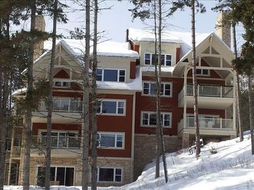 Outside View of complex - Mont Tremblant, Quebec, Canada Ski Resort Condominium