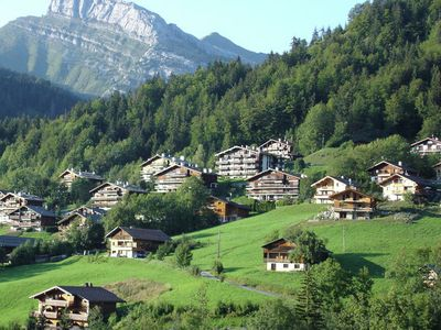 Apartments in the heart of the Aravis Mountains