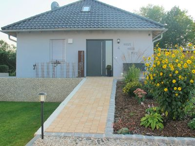 Brand new house in an idyllic quiet location with terrace and large garden