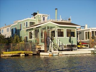 Sausalito house boat photo - View of the Houseboat