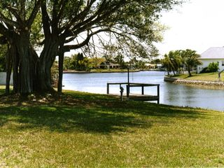 Port Charlotte house photo - Backyard & Dock