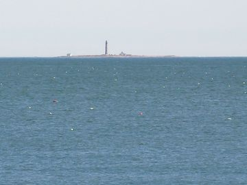 On a clear day you can see the Petit Manan lighthouse - 18 miles away.
