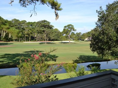 Breathtaking view of Harbour Town Golf Links