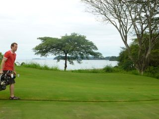Playa Conchal condo photo - Golf course with ocean view.